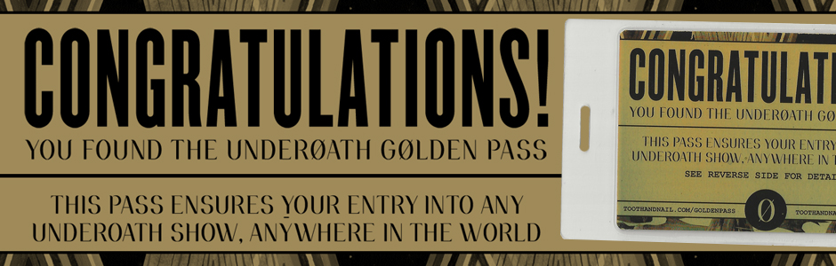 Underoath Golden Pass